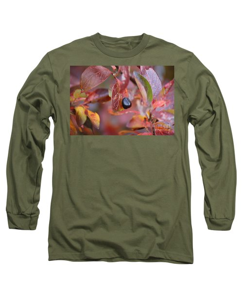 Long Sleeve T-Shirt featuring the photograph Fall Berry by Ann E Robson