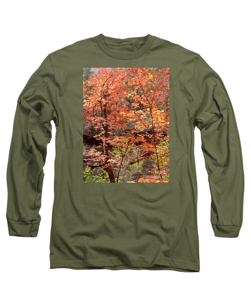 Fall Colors 6335 Long Sleeve T-Shirt by En-Chuen Soo