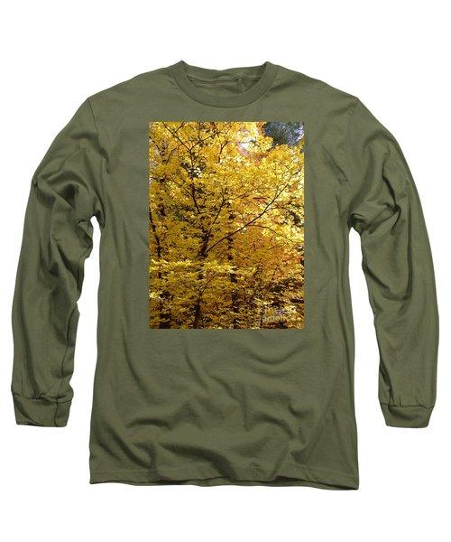 Fall Colors 6371 Long Sleeve T-Shirt by En-Chuen Soo