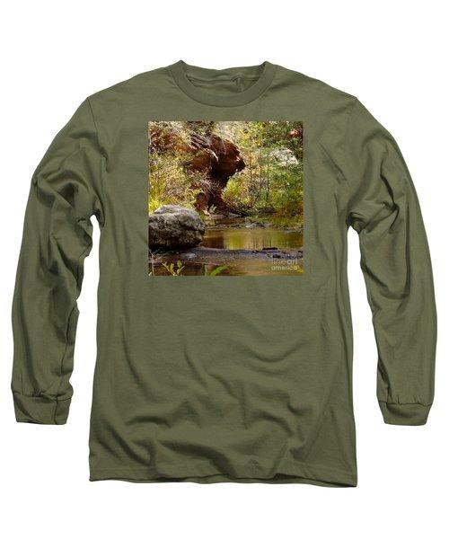 Fall Colors 6472-02 Long Sleeve T-Shirt by En-Chuen Soo