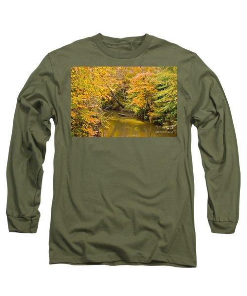 Fall Creek Foliage Long Sleeve T-Shirt