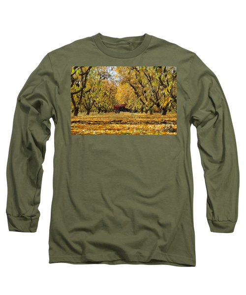 Fall In The Peach Orchard Long Sleeve T-Shirt