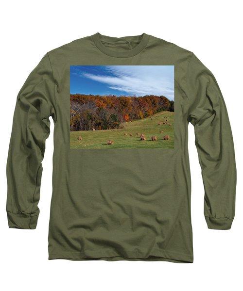 Fall On The Farm Long Sleeve T-Shirt