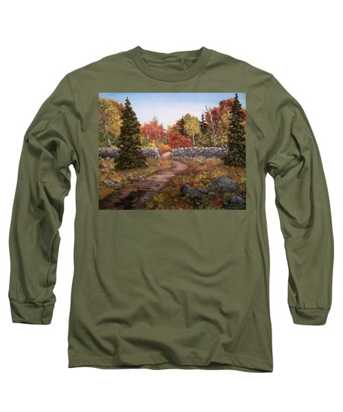 Fall Path Long Sleeve T-Shirt