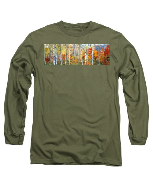 Fall Trees, Shinhodaka, Gifu, Japan Long Sleeve T-Shirt