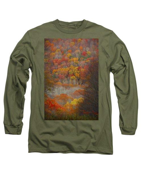 Fall Tunnel Long Sleeve T-Shirt by Raymond Salani III