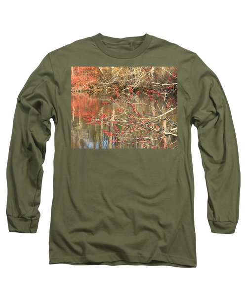 Long Sleeve T-Shirt featuring the photograph Fall Upon The Water by Bruce Carpenter