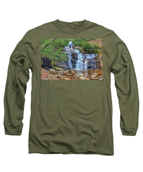 Falling From Mount Mitchell Long Sleeve T-Shirt