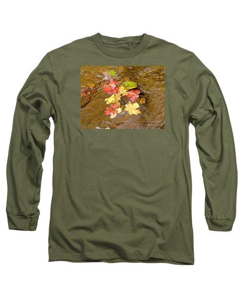 Falls Colors 6349 Long Sleeve T-Shirt by En-Chuen Soo