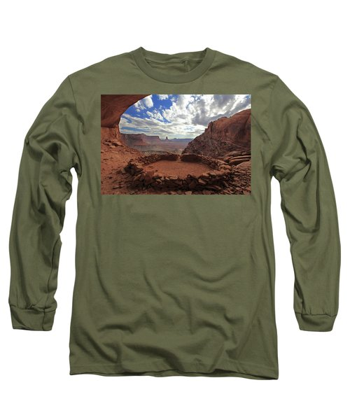 Long Sleeve T-Shirt featuring the photograph False Kiva by Alan Vance Ley
