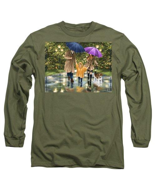 Family Long Sleeve T-Shirt by Veronica Minozzi