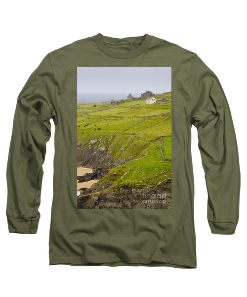 Farm On Slea Head, Dingle Peninsula Long Sleeve T-Shirt