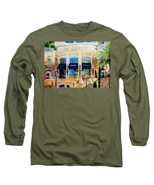 Fashion Vegas Style Long Sleeve T-Shirt