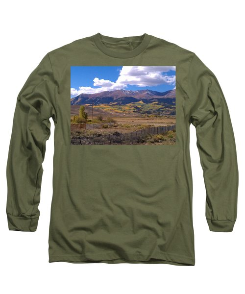 Fenced Nature Long Sleeve T-Shirt