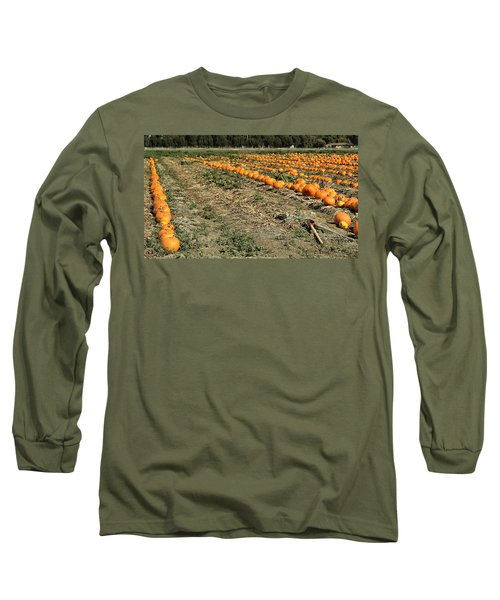 Fencing The Pumpkin Patch Long Sleeve T-Shirt