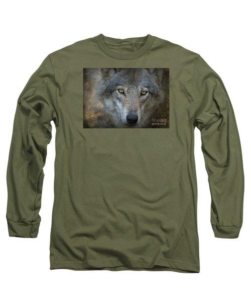 Fenris... Long Sleeve T-Shirt by Nina Stavlund