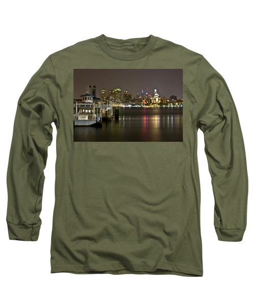 Ferry To The City Of Brotherly Love Long Sleeve T-Shirt