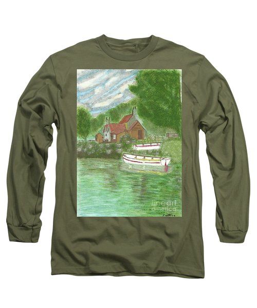 Ferryman's Cottage Long Sleeve T-Shirt