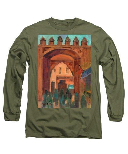 Fez Town Scene Long Sleeve T-Shirt
