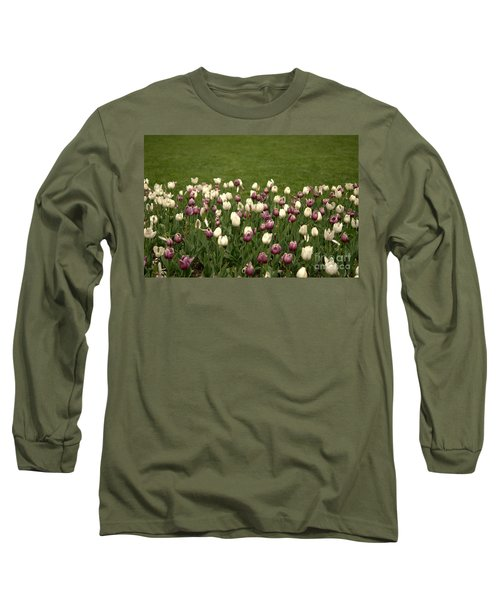 Field Of Flowers Long Sleeve T-Shirt