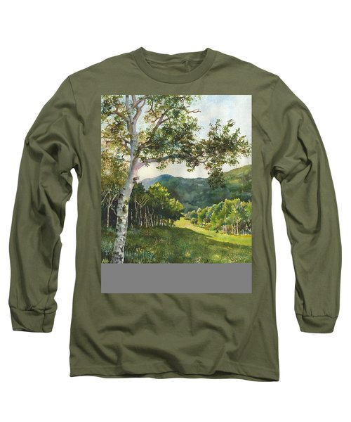 Field Of Light At Caribou Ranch Long Sleeve T-Shirt