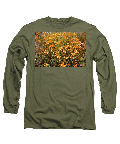 Field Of Wildflowers Long Sleeve T-Shirt