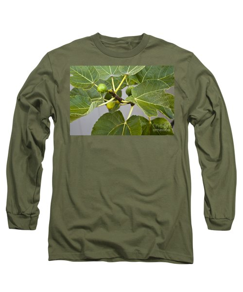 Long Sleeve T-Shirt featuring the photograph Figalicious by David Millenheft