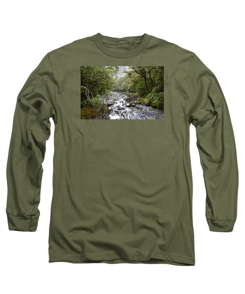 Fiordland National Park New Zealand Long Sleeve T-Shirt