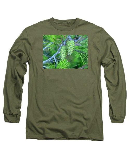 Fir Cones Long Sleeve T-Shirt