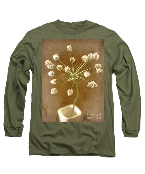 Firecracker Long Sleeve T-Shirt by Peggy Hughes