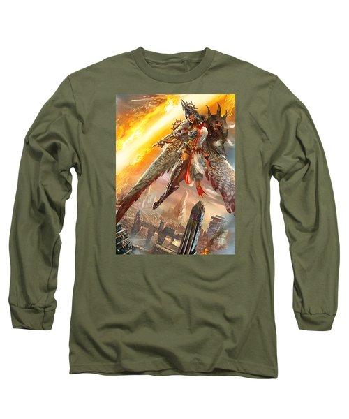 Firemane Avenger Promo Long Sleeve T-Shirt