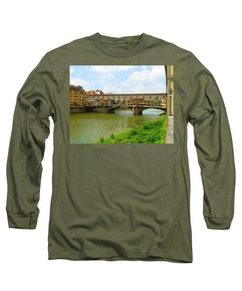 Firenze Bridge Itl2153 Long Sleeve T-Shirt