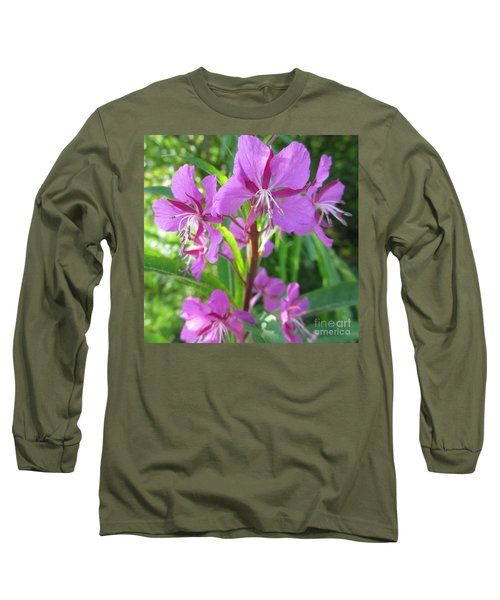 Fireweed 3 Long Sleeve T-Shirt by Martin Howard