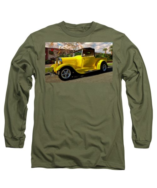 Long Sleeve T-Shirt featuring the painting First Love by Michael Pickett