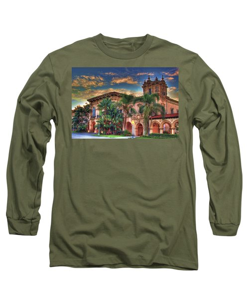 Long Sleeve T-Shirt featuring the photograph First Morning Glow by Gary Holmes