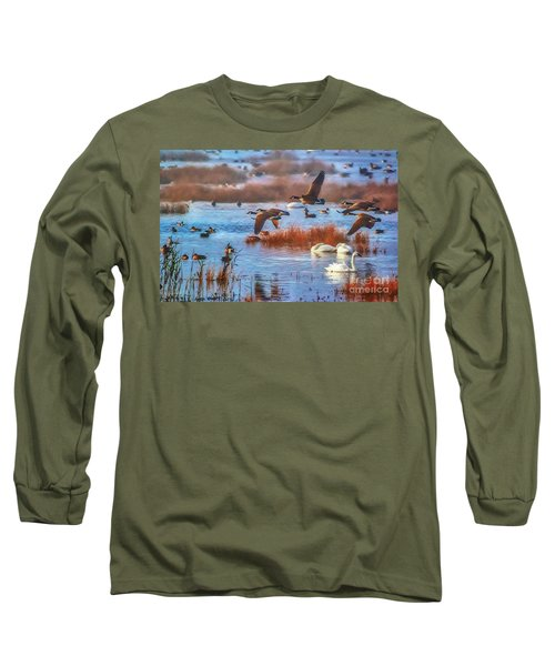 Five Canadians Long Sleeve T-Shirt