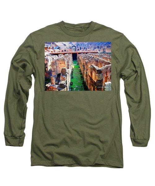 Flavian Amphitheatre Long Sleeve T-Shirt