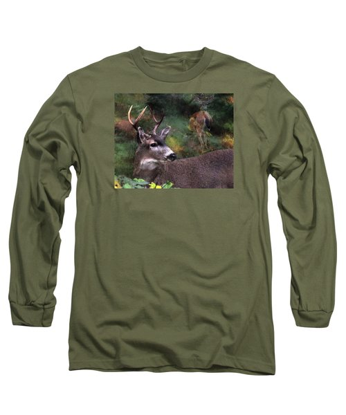 Long Sleeve T-Shirt featuring the photograph Flirt by I'ina Van Lawick