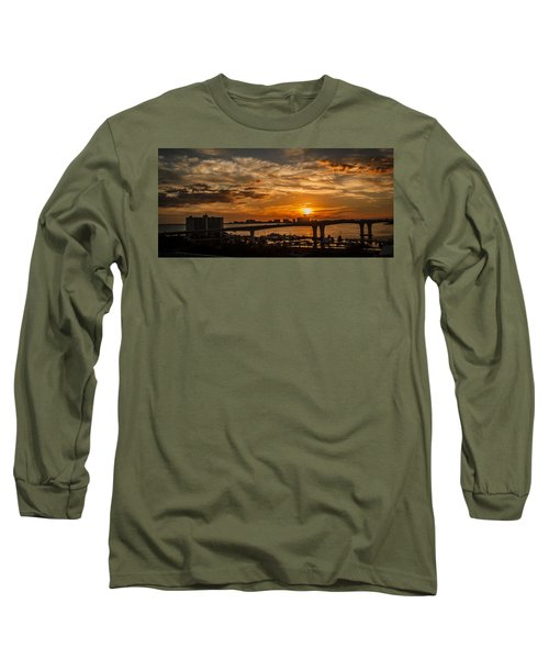 Long Sleeve T-Shirt featuring the photograph Florida Sunset by Jane Luxton