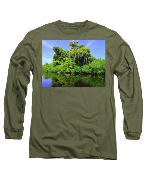 Florida Swamps Long Sleeve T-Shirt