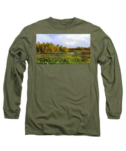 Florida Wetlands August Long Sleeve T-Shirt