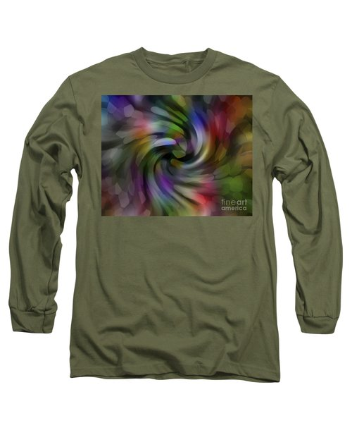 Flower Car Long Sleeve T-Shirt