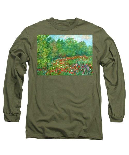 Flower Field Long Sleeve T-Shirt