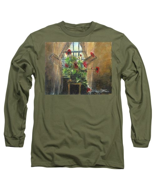 Flowers By The Window Long Sleeve T-Shirt