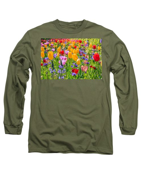 Flowers Everywhere Long Sleeve T-Shirt