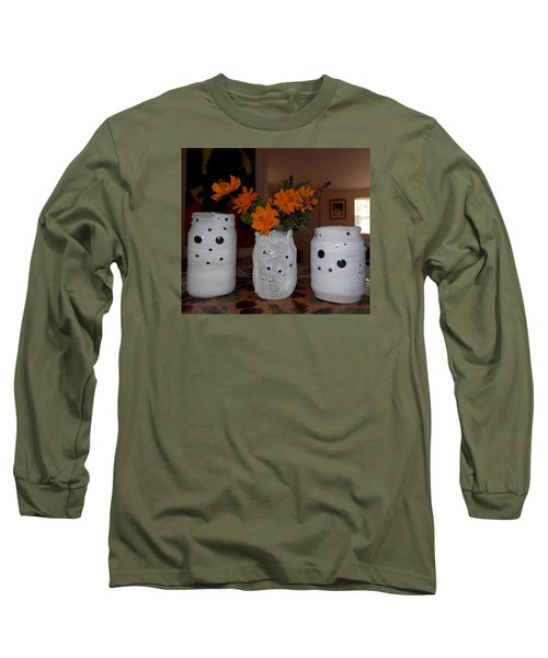 Halloween Flowers For Mummy Long Sleeve T-Shirt