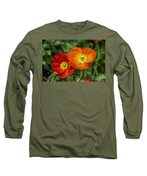 Flowers In Kodakchrome Long Sleeve T-Shirt