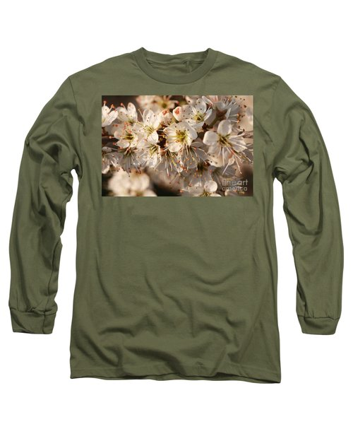 Flowers In The Sunset Long Sleeve T-Shirt