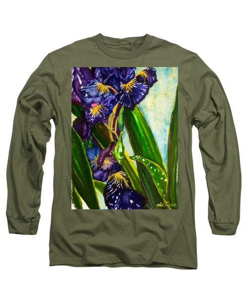 Flowers In Your Hair II Long Sleeve T-Shirt
