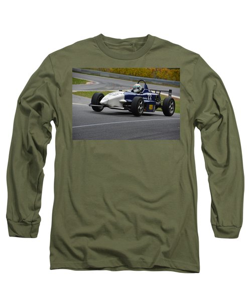 Flying Formula Long Sleeve T-Shirt by Mike Martin